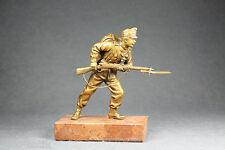 Original de vienne bronze soldat sign. Bergmann K.u.K. 1 wk