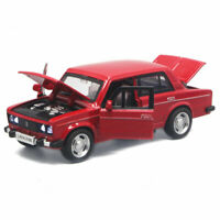 VAZ Lada 2106 1:32 Scale Model Car Metal Diecast Toy Vehicle Kids Gift Red
