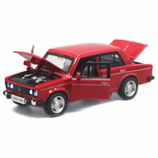 VAZ Lada 2106 1:32 Scale Model Car Diecast Gift Toy Vehicle Kids Collection Red