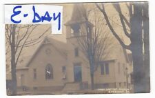 1900's RPPC KNOXVILLE PA FIRST BAPTIST CHURCH VINTAGE POSTCARD PENNSYLVANIA OLD
