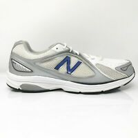 New Balance Mens 847 MW847WN White Gray Running Shoes Lace Up Low Top Size 13 D