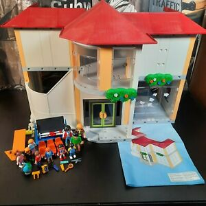 Playmobil School 5923 - Incomplete Good Condition Large Set Good Value