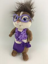 "Build A Bear Workshop Chipettes Jeanette Alvin Chipmunks 12"" Stuffed Plush Toy"