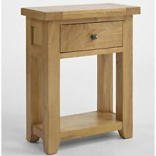 Balmoral Oak Furniture Living Room Hallway Hall Small Console Table
