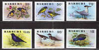 Barbuda #Mi261-Mi266 MNH CV€14.00 Birds Oiseaux Vogel Aves [238-243 SG262-SG267]