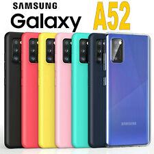 Cover Samsung Galaxy A52 5G L' ORIGINALE Silicone CUSTODIA Qualità PREMIUM