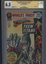 World's Finest Comics #205 CGC 6.5 SS Neal Adams 1971 Teen Titans SUPERMAN