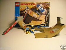 "LEGO SPORTS ~ Gravity Games ~ SET 3537-1 ~ ""SKATEBOARD VERT PARK CHALLENGE"" 2003"