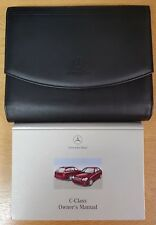 GENUINE MERCEDES C CLASS OWNERS MANUAL HANDBOOK WALLET 2000-2004 PACK E-103 !