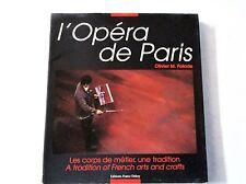 L'opéra de Paris Les corps de métier Anglais/Français  /T42