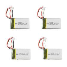 4x 7,4V 700 mAh LiPo Akku BEC-Stecker LxBxH: ca. 5,5x3x1,3 cm MJX X600