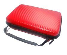 Nintendo 2DS XL 2DSXL 3DS XL 3DSXL Red Carry Case Bag Pouch UK Seller