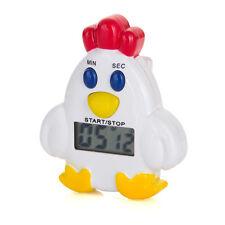 Reloj Despertador recuento de Temporizador Digital LCD Cocina Cocinar hasta abajo Diseño de pollo