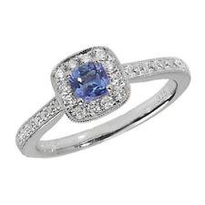 Tanzanite Fine Diamond Rings