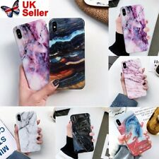 Marble Case for iPhone 11 XR XS MAX 8 7 6 Plus Shockproof Phone Cover Silicone