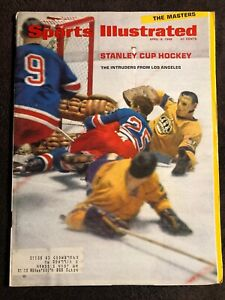 Sports Illustrated April 8 1968 Stanley Cup Hockey Los Angeles Kings