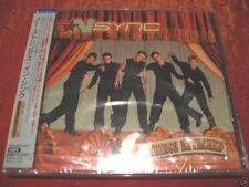 N Sync - No Strings Attached - Justin Timberlake - Japan CD SEALED OBI + 3 Bonus