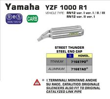 SILENCIEUX ARROW ALU YAMAHA 1000 R1 2004/05/06 -71687AO