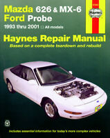 Mazda 626 MX-6 Ford Probe 1993-2002 Haynes Manual 61042 NEW