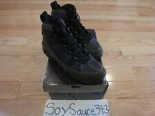AIR JORDAN 9 RETRO IX BLACK OLIVE SIZE 8 (302370 031) 2002 RELEASE WORN