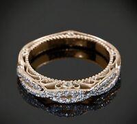 Diamond Wedding Band 14K White Gold FN Women Engagement Anniversary Ring 1.65 CT