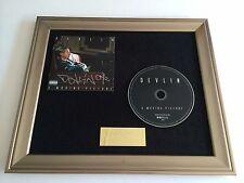 PERSONALLY SIGNED/AUTOGRAPHED DEVLIN - A MOVING PICTURE FRAMED CD PRESENTATION.
