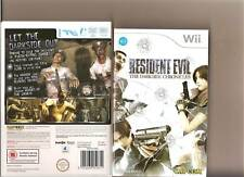 RESIDENT EVIL DARKSIDE CHRONICLES NINTENDO WII ZOMBIES