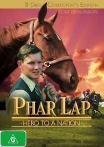 DVD PHAR LAP 2 DISC COLLECTOR'S EDITION HORSE RACING BRAND NEW UNSEAL