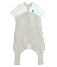 Love To Dream Sleepsuit 1 Tog White 5 Sizes Sleep Suit Bag