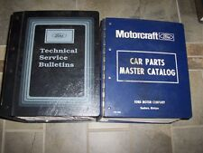 1984 Ford Mustang Parts Catalog Manual Convertible SVO L LX GL GLX GT GT350