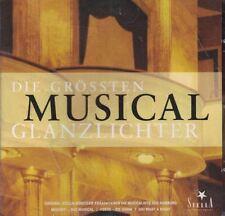The Biggest Musical Highlights CD in German Die Grossen Musical Glanzlichter