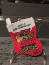 1990 Christmas Stocking Mirage Comics Teenage Mutant Ninja Turtles