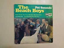 """BEACH BOYS: Pet Sounds +3- Spain 7"""" 1967 Capitol Records Inc. EAP 7-2458 EP PCV"""