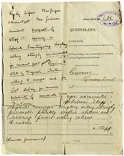 1889 Hong Kong - GOVERNOR DES VOEUX SECRET TELEGRAM - Death of Colonial Secretar