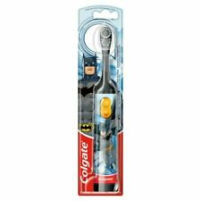 Colgate Batman Battery Powered Kids Electric Toothbrush Tooth Brush Childrens 3+