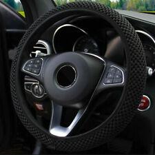 15'' 37-39cm Auto Car Steering Wheel Cover Sleeve Breathable Soft Non-slip Grip
