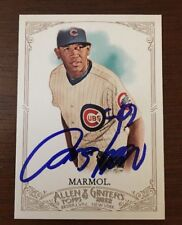 CARLOS MARMOL 2012 TOPPS ALLEN GINTER AUTOGRAPHED SIGNED AUTO BASEBALL CARD 221