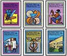 Timbres Rwanda 654/9 ** lot 25798