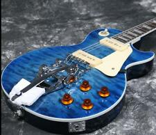 Starshine LP Electric Guitar With P90 Pickups Bigsby Bridge Quilted Maple Top
