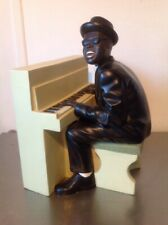 "Rare 1993 Enesco Club Piano Player. Apparence Statue 14"" tall large"