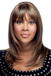 Vivica A Fox H201-V 100% Human Hair Pure Stretch Cap Premium Wig