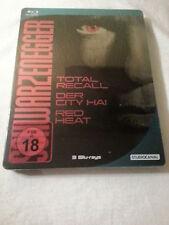 Schwarzenegger Edition Blu Ray Steelbook (Total Recall,  Raw Deal & Red Heat)