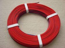 Zwillingslitze Litze Kabel zweiadrig rot blau 2 X 0,14 mm² für Trix 1 Rolle 50m