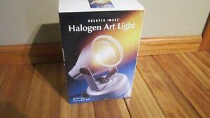 Halogen Art Light SHARPER IMAGE NEW STAND OR MOUNT  #T13