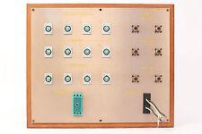 Custom Headphone/Video Patch Bay Panel 12x 4-Pin XLRF / 2x ELCO / 6x SO-239 #1