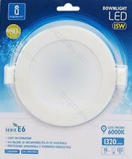 LED Panel Recessed 15W = 88W Spotlights Ceiling Recessed Spot Light Round 6400K