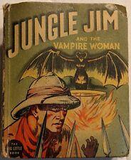 Jungle Jim And The Vampire Woman 1937 432p Big Little Book #1139 A. Raymond  VG-