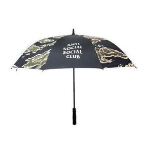 ANTI SOCIAL SOCIAL CLUB ASSC TIGER CAMO UMBRELLA BLACK OLIVE GREEN BROWN NEW
