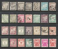 France stamps, nice collection of Postage Due classics, SCV $175.70