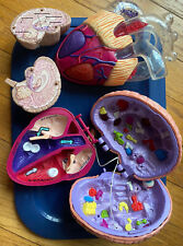 Vtg 1995 Magic School Body Safari Ear Works + Heart Medical science Educ toy Lot